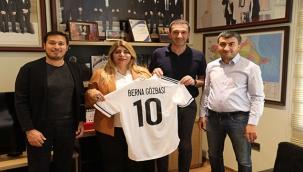 Berna Gözbaşı ve Ali Naibi'den Azerbaycan'a Ziyaret