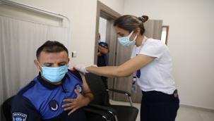 Melikgazi Belediye Personeli Kovid-19 Aşısı Oluyor