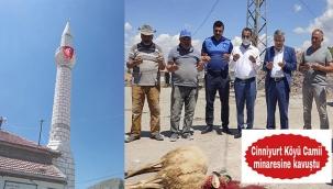 Şehit Ailesi Minare Yaptırttı